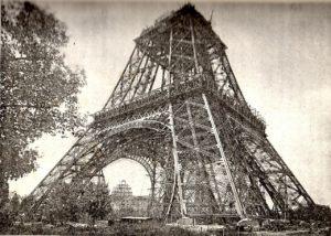 eiffel-tower-under-construction-1166143_1280